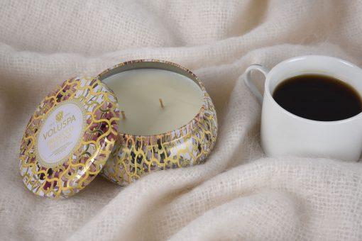 Maison Blanc Tin Candle