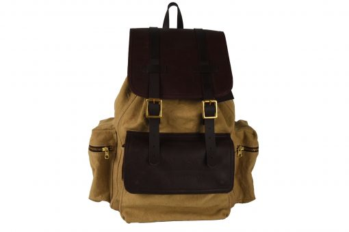 Canvas & Leather Backpacks