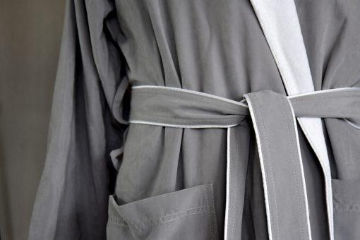 37 Dual Layer Microfiber Robe