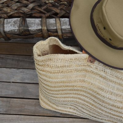 Raffia Natural Tan Bag