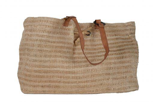 Raffia Natural Tan Bag